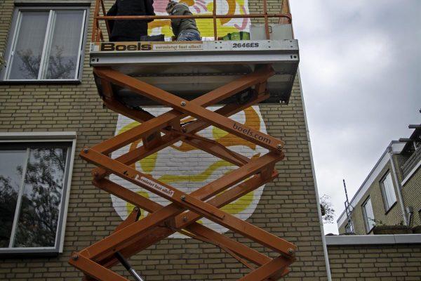 Den Bosch Murals - Van Gogh Mural 2019 (3)