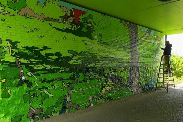 Van Gogh Mural Eindhoven - Novadead (1)