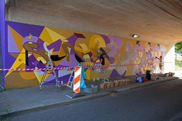 Kings of Colors - Van Herpensweide Mural 4