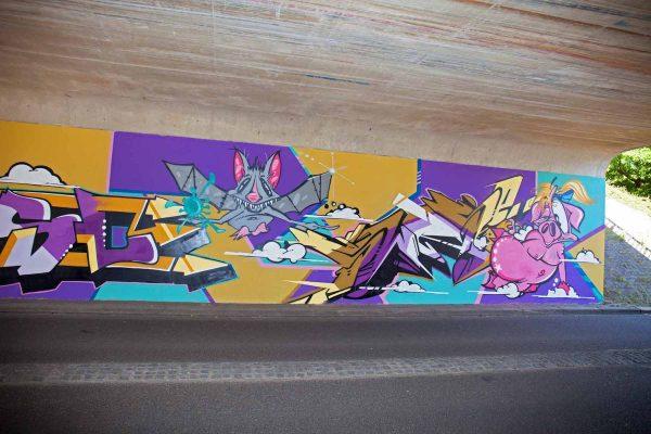 Kings of Colors - Van Herpensweide Mural 8