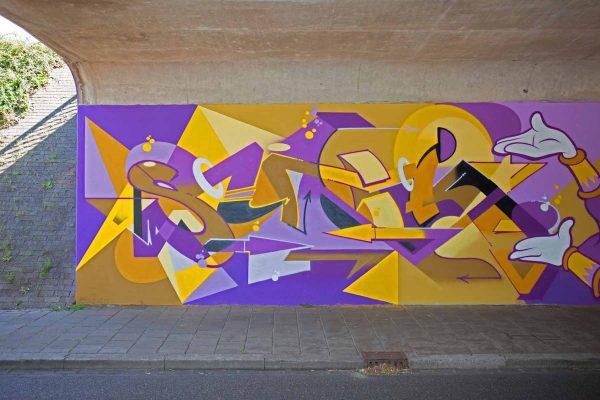 Kings of Colors - Van Herpensweide Mural 9